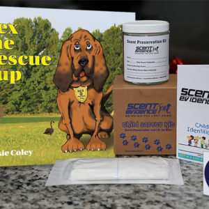 Child Scent Preservation and Rex the Rescue Pup bundle