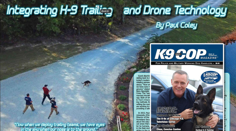 K9 Cop K9 Trailing Drone Integration article
