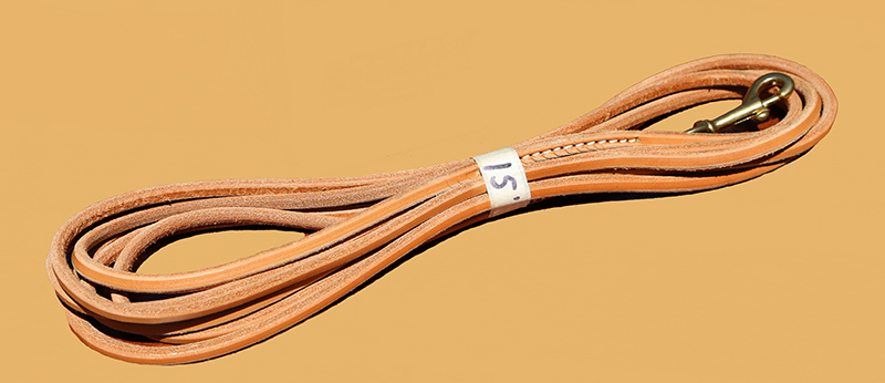 Leather K9 Trailing Lead
