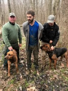 Henry County, TN K9s Rowdy, Adora Track Down Two Men After Evading Arrest