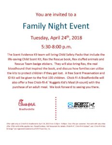Chick-fil-A Family Night Bradfordville, FL Flier Apr 24 2018 bv II