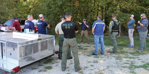 Human Scent Discriminate K9 Training