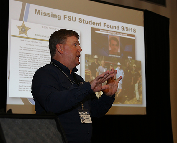 Scent Evidence K9 CEO, Paul Coley, instructs K-9 Cop Conference workshop