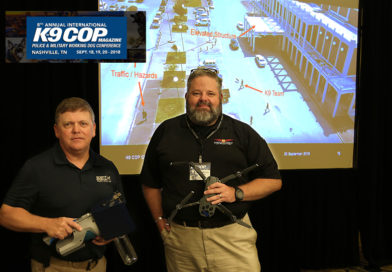 K-9 Cop Conference 2018, Paul Coley, Scent Evidence K9 and David Merrick, FSU Emergency Management and Homeland Security