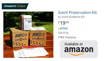 Amazon's Choice for Scent Preservation Kit®