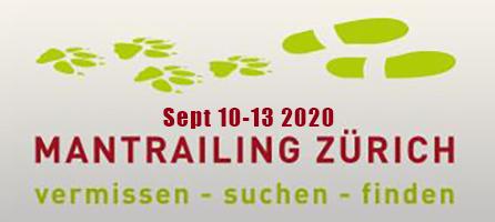 Mantrailing Zurich Seminar Sept 10-13 2020