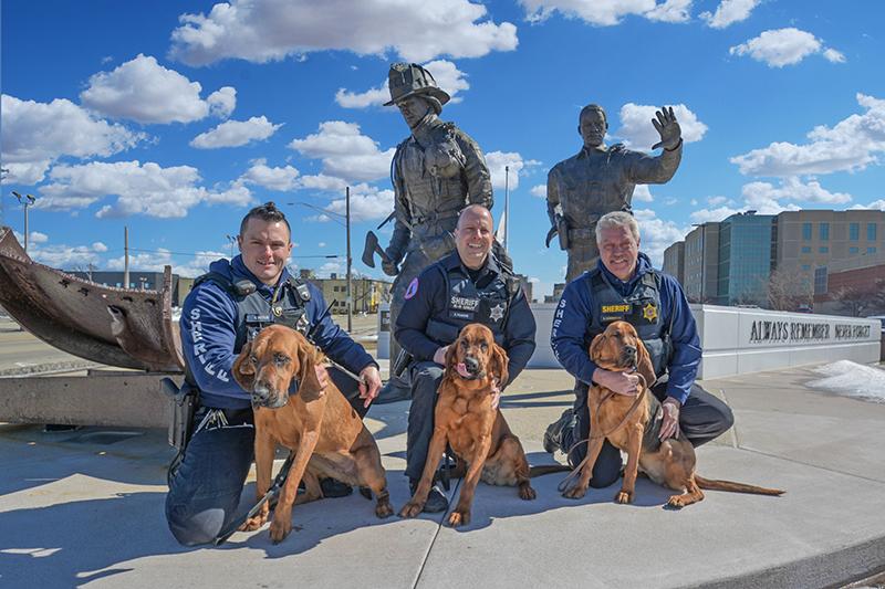 WCSO Bloodhound Team